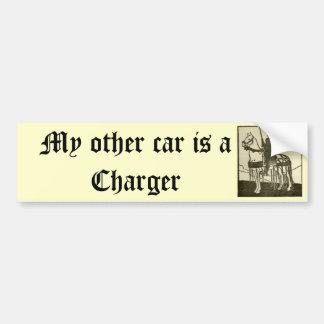 Mi otro coche es un cargador pegatina para auto