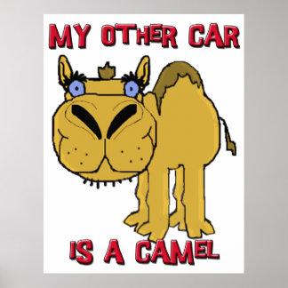 Mi otro coche es un dibujo animado de Schnozzle de Posters