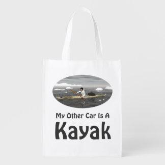 Mi otro coche es un kajak bolsas de la compra