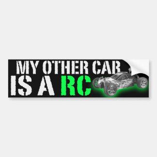 mi otro coche es un Rc Etiqueta De Parachoque