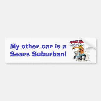 Mi otro coche es un Sears suburbano Pegatina Para Auto