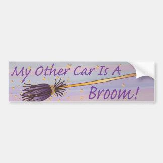 Mi otro coche es una escoba 3 - pegatina de Bumber Pegatina Para Auto