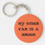 mi otro coche es una escoba llavero personalizado