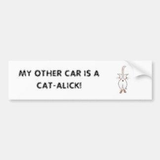 MI OTRO COCHE PEGATINA PARA AUTO