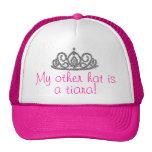 ¡Mi otro gorra es una tiara!