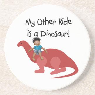 Mi otro paseo es un dinosaurio AA Posavasos Diseño