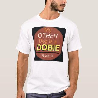Mi otro perro es un Dobie Playera