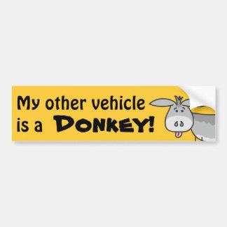 Mi otro vehículo es pegatina para el parachoques d pegatina de parachoque