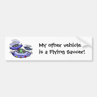 Mi otro vehículo pegatina para auto