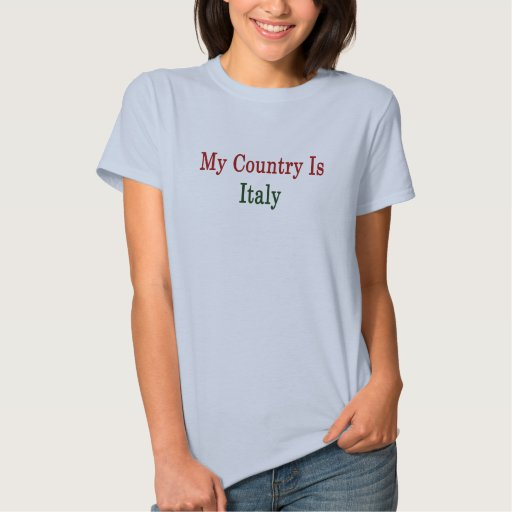 Mi país es Italia Playera