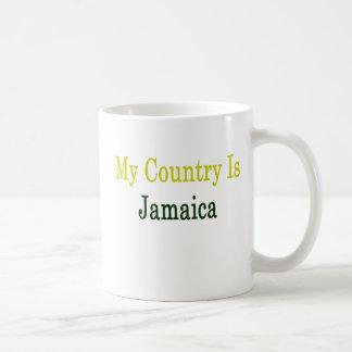 Mi país es Jamaica Tazas De Café