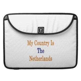 Mi país es los Países Bajos Funda Macbook Pro