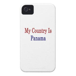 Mi país es Panamá iPhone 4 Carcasas