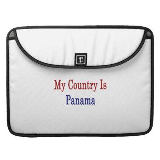 Mi país es Panamá Funda Para Macbook Pro