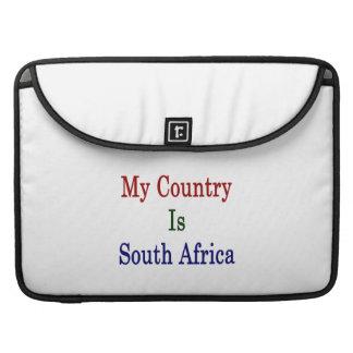 Mi país es Suráfrica Fundas Macbook Pro