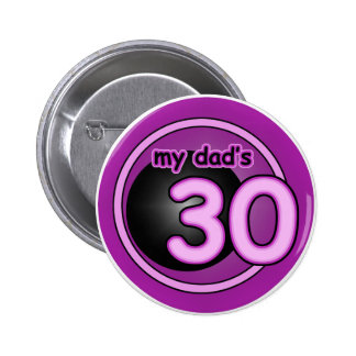 ¡Mi papá 30! Pins