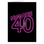 Mi papá 40 felicitaciones