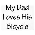 Mi papá ama su bicicleta anuncio