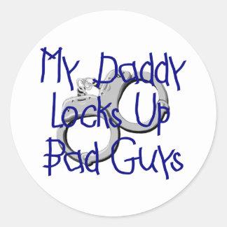Mi papá cierra para arriba a chicos malos etiquetas