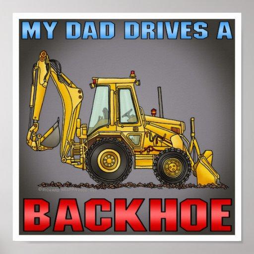 Mi papá conduce una impresión del poster de la