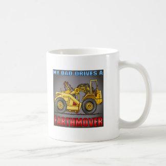 Mi papá conduce una taza de café del raspador de