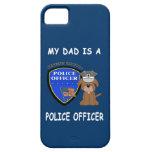 Mi papá de la policía iPhone 5 carcasa