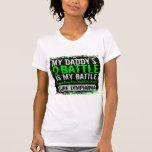 Mi papá del linfoma demasiado 2 de la batalla camiseta