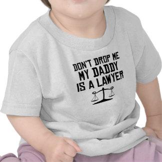 Mi papá es abogado camiseta