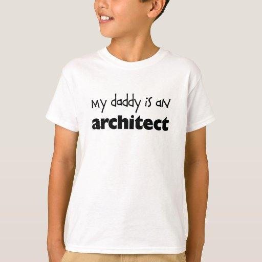 Mi papá es arquitecto playera