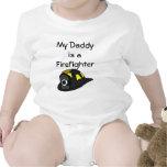 Mi papá es bombero traje de bebé