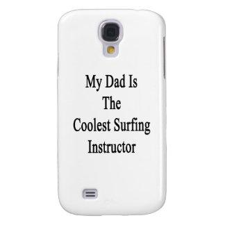 Mi papá es el instructor que practica surf más fre funda para galaxy s4