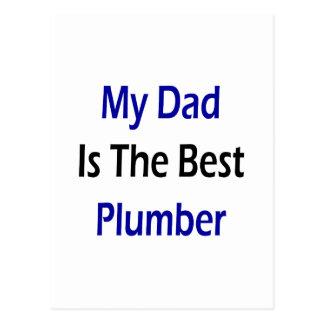 Mi papá es el mejor fontanero postal