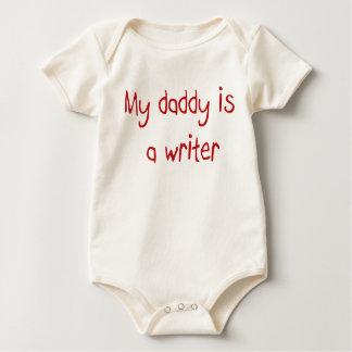 Mi papá es escritor mameluco de bebé