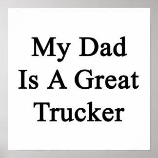 Mi papá es gran camionero impresiones