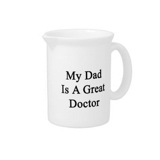 Mi papá es gran doctor jarrones
