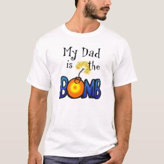 Mi papá es la BOMBA Playera
