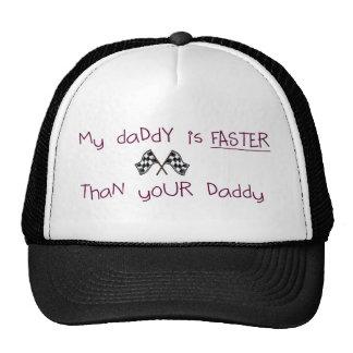 Mi papá es más rápido que su papá gorra