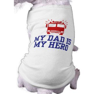 Mi papá es mi héroe camisas de perritos