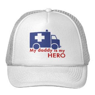 Mi papá es mi héroe gorro de camionero