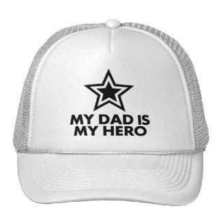 Mi papá es mi héroe gorras