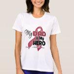 Mi papá es mi héroe - mieloma múltiple camiseta