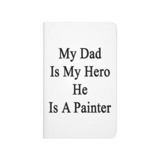 Mi papá es mi héroe que él es pintor