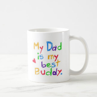 ¡Mi papá es mi mejor compinche! ¡Día de padre Taza