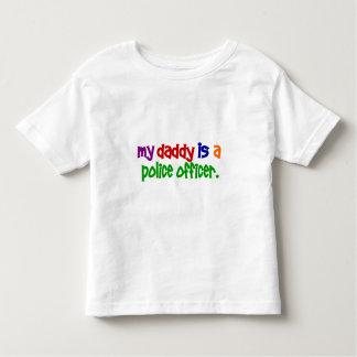 Mi papá es oficial de policía 1 (primario) camisas