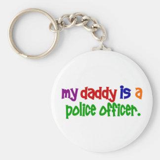 Mi papá es oficial de policía 1 primario llavero
