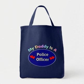 Mi papá es oficial de policía bolsas