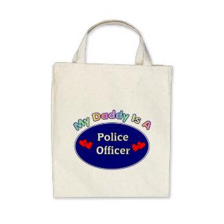 Mi papá es oficial de policía bolsa
