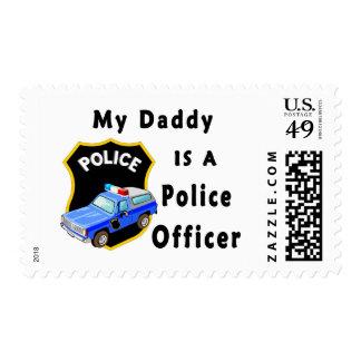Mi papá es oficial de policía sellos