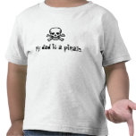 Mi papá es pirata camisetas