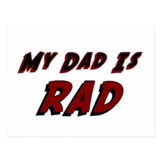 Mi papá es Rad Tarjeta Postal
